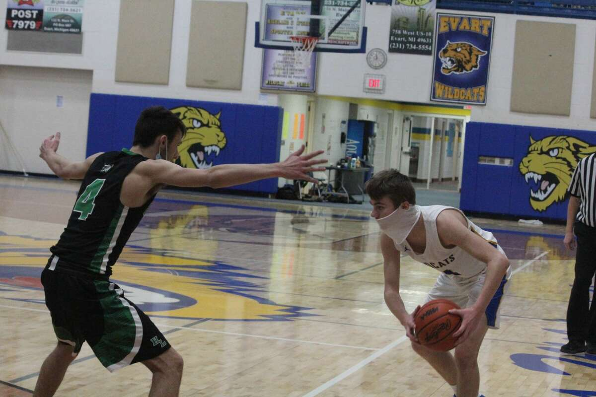 Houghton Lake was too much for Evart on Thursday in a 62-52 Highland Conference boys basketball win.