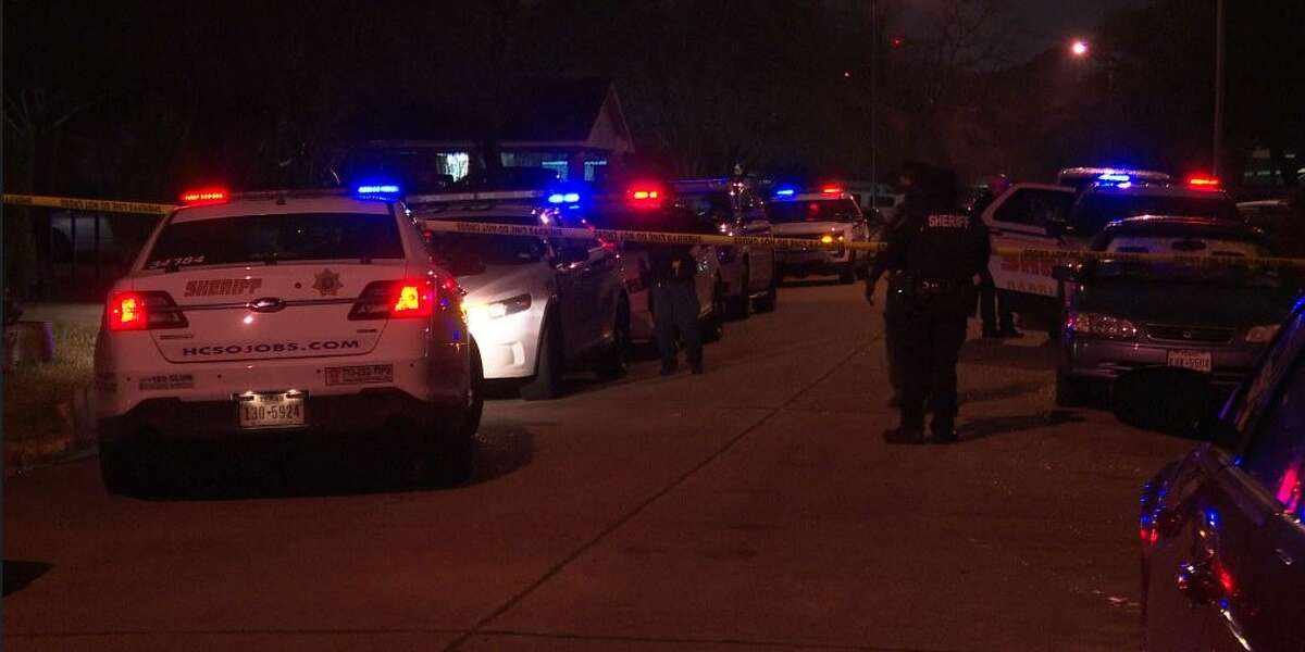 Deputies investigating a fatal domestic stabbing in north Harris County early Friday.