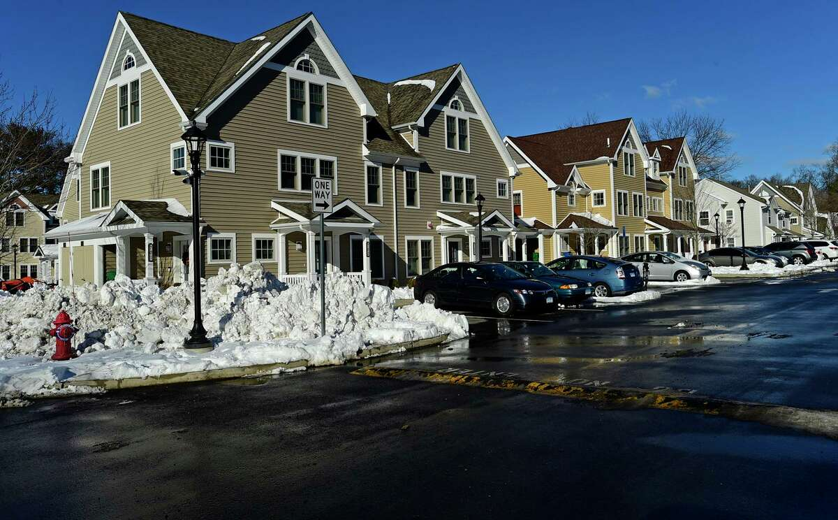 Sasco Creek Village Thursday, February 4, 2021, one of four affordable, residential communities in Westport, Conn.
