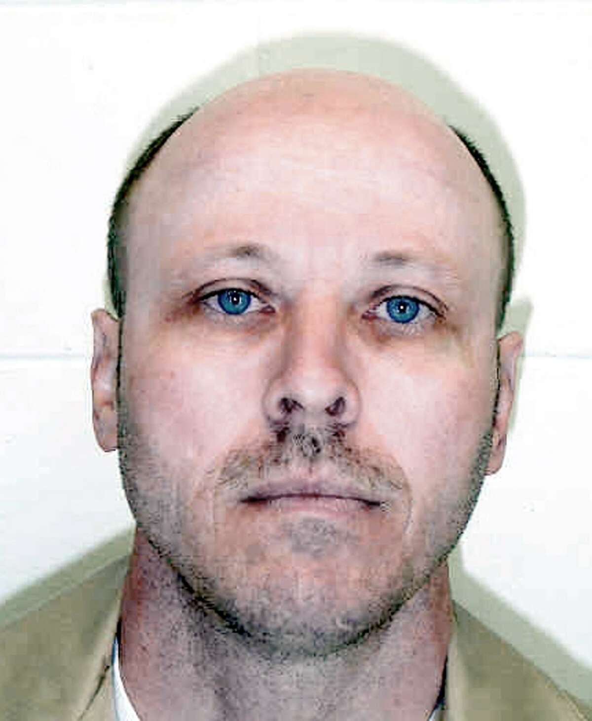 ** FILE ** This undated photo released by the Nebraska Dept. of Corrections shows Carey Dean Moore, who was executed. Nebraska became the first state to use the opioid fentanyl to kill a prisoner when Moore was executed in 2018. (AP Photo/Dept. of Corrections via The Lincoln Journal Star)