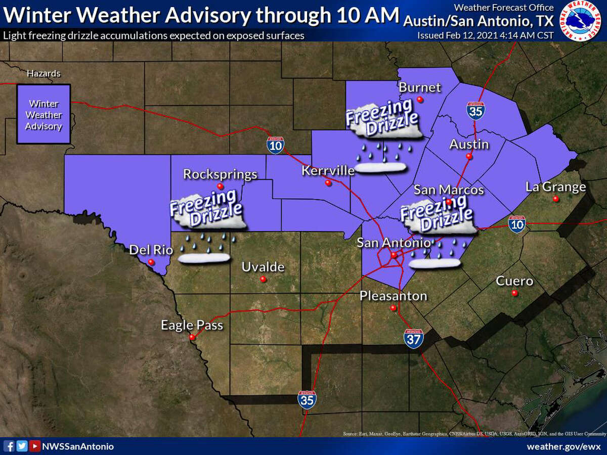 The National Weather Service shared this image in their Friday update.