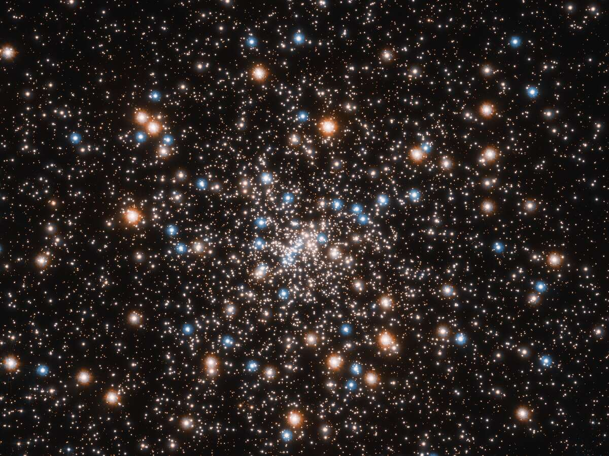 NASA's Hubble uncovers a globular cluster filled with a mass of smaller black holes as old as the universe.