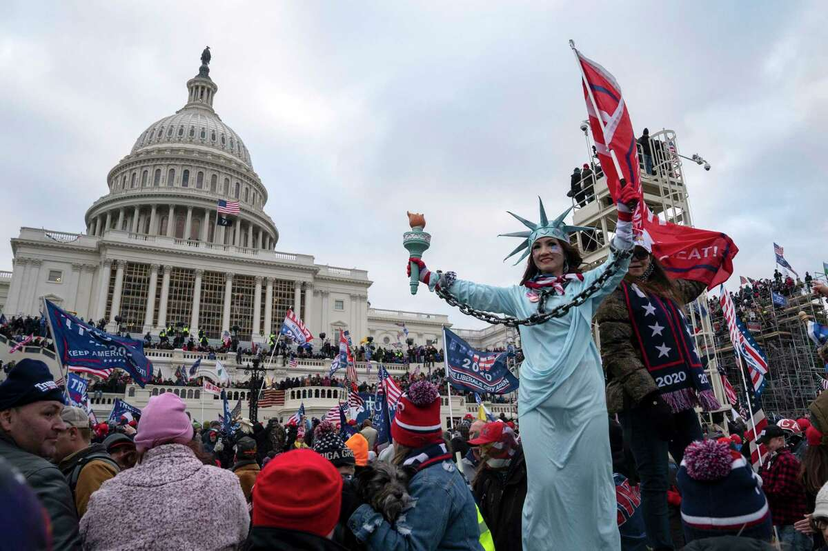 Trump supporters scaled the walls and overtook the Capitol on Jan. 6. The former president has been impeached for inciting them.