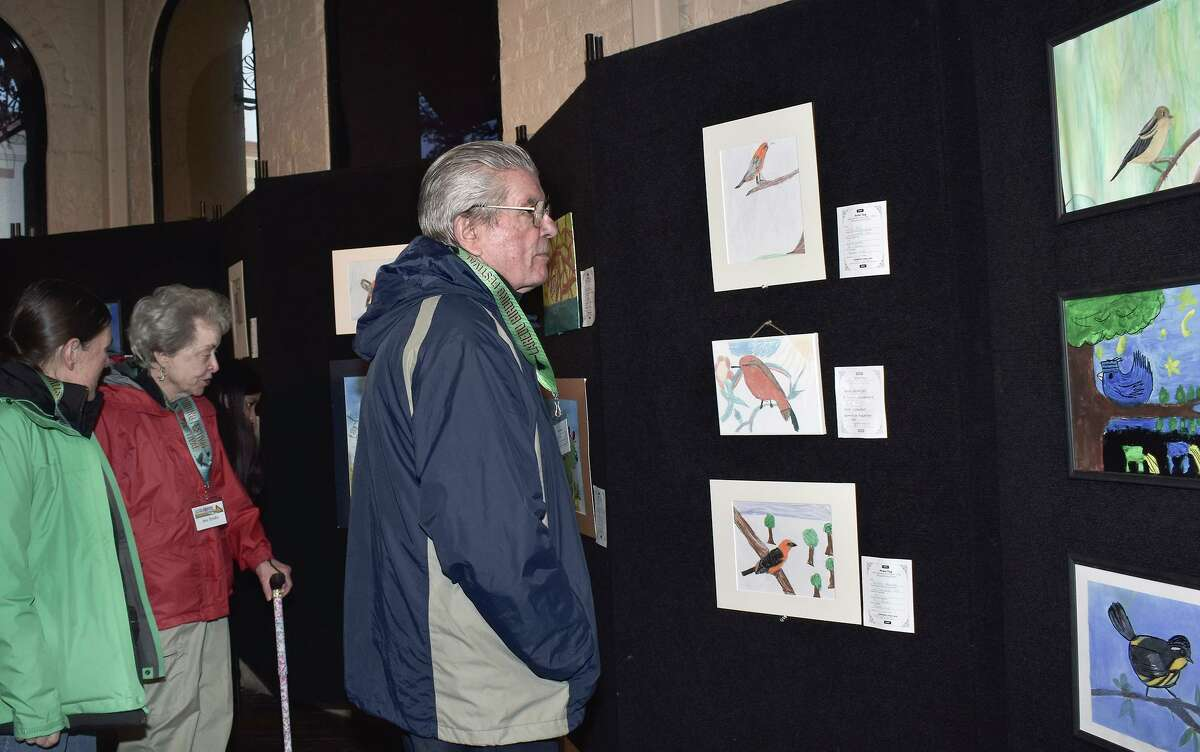 Visitors visiting town for the annual Birding Festival had an opportunity to view some painting and drawings local birds at Laredo Center For the Arts on Wednesday, Feb. 5, 2020.