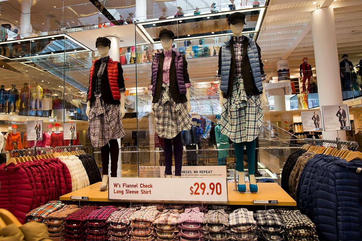Uniqlo is closing its Union Square store in San Francisco, seen in 2012, adding to the staggering list of vacant retail spaces in the city's premier shopping district.