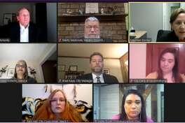 Midland City Council met virtually Monday, Feb. 8, 2021. (Screen photo/MCTV)