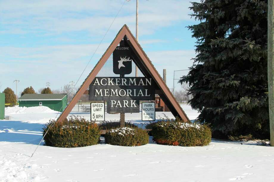 Ackerman Memorial Park in Elkton. The Elkton Village Council is working on plans for a new walking path to be built in the park. (Robert Creenan/Huron Daily Tribune)