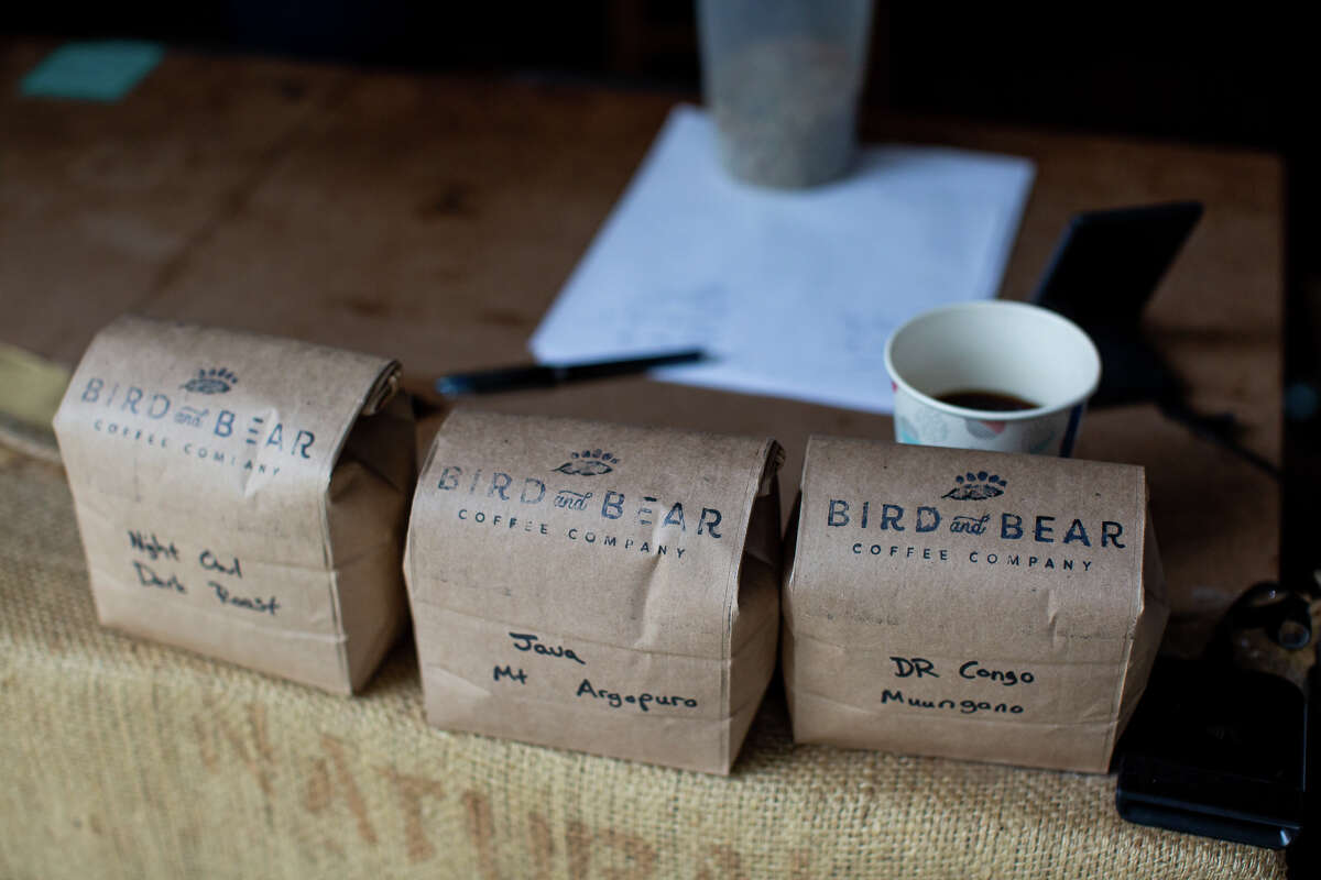 Dan and Ella Streetman operate Bird and Bear Coffee out of their garage at 726 Cole St.