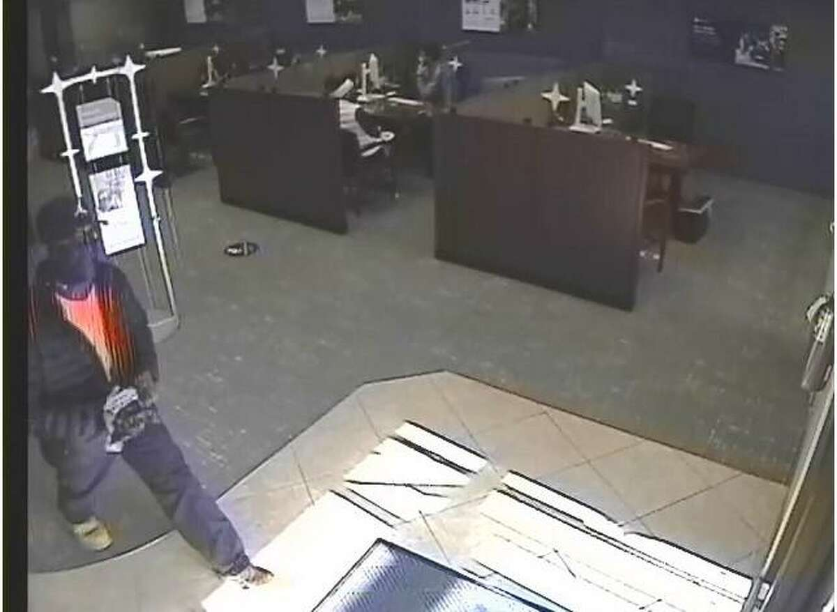 Police are searching for the individual, above, who robbed Chase Bank, 675 Bridgeport Ave., Friday, Feb. 12. Anyone who recognizes this individual is asked to contact Shelton Police Department at 203-924-1544.