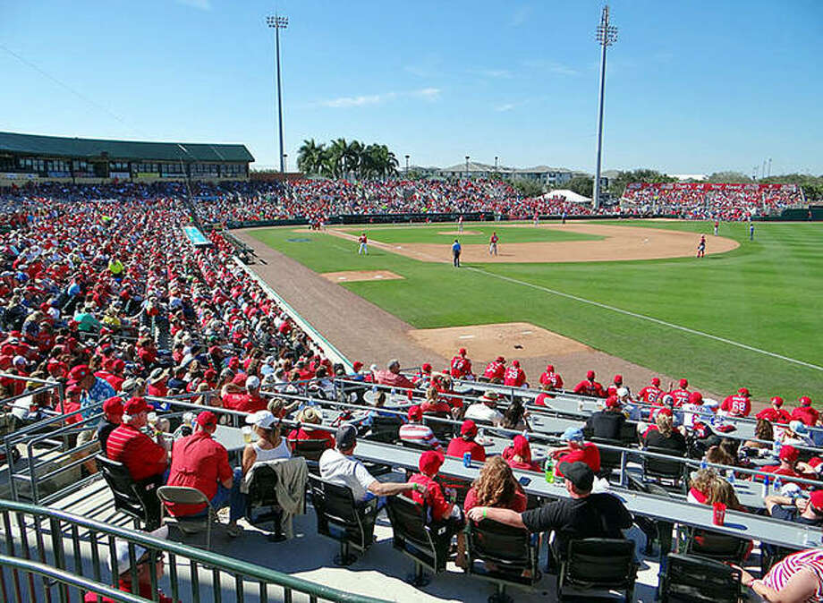 Roger Dean Stadium in Jupiter, Fla. will be the spring training home for the Cardinals for the 24th year. Spring training games are set to begin Feb. 28 when the Cardinals play host to the Washington Nationals Photo: File Photo