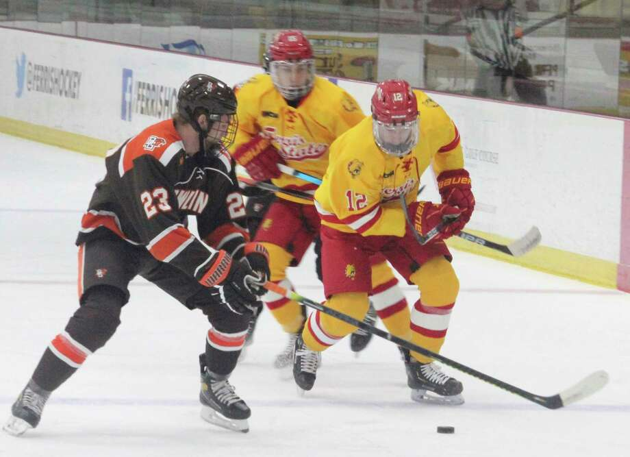 Ferris hockey will end its regular season with upcoming home games against Lake Superior State. (Star photo/John Raffel)