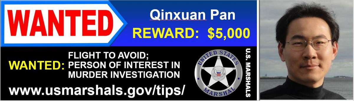 The posted the U.S. Marshal's Service released on Qinxuan Pan.