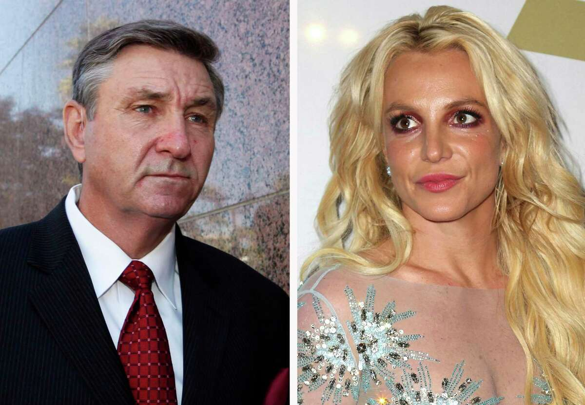 Britney Spears, right, has been in a protracted dispute with her father, Jamie Spears, about a conservatorship that has controlled much of her life and money. A new documentary places the pop star in a fresh and complex light.