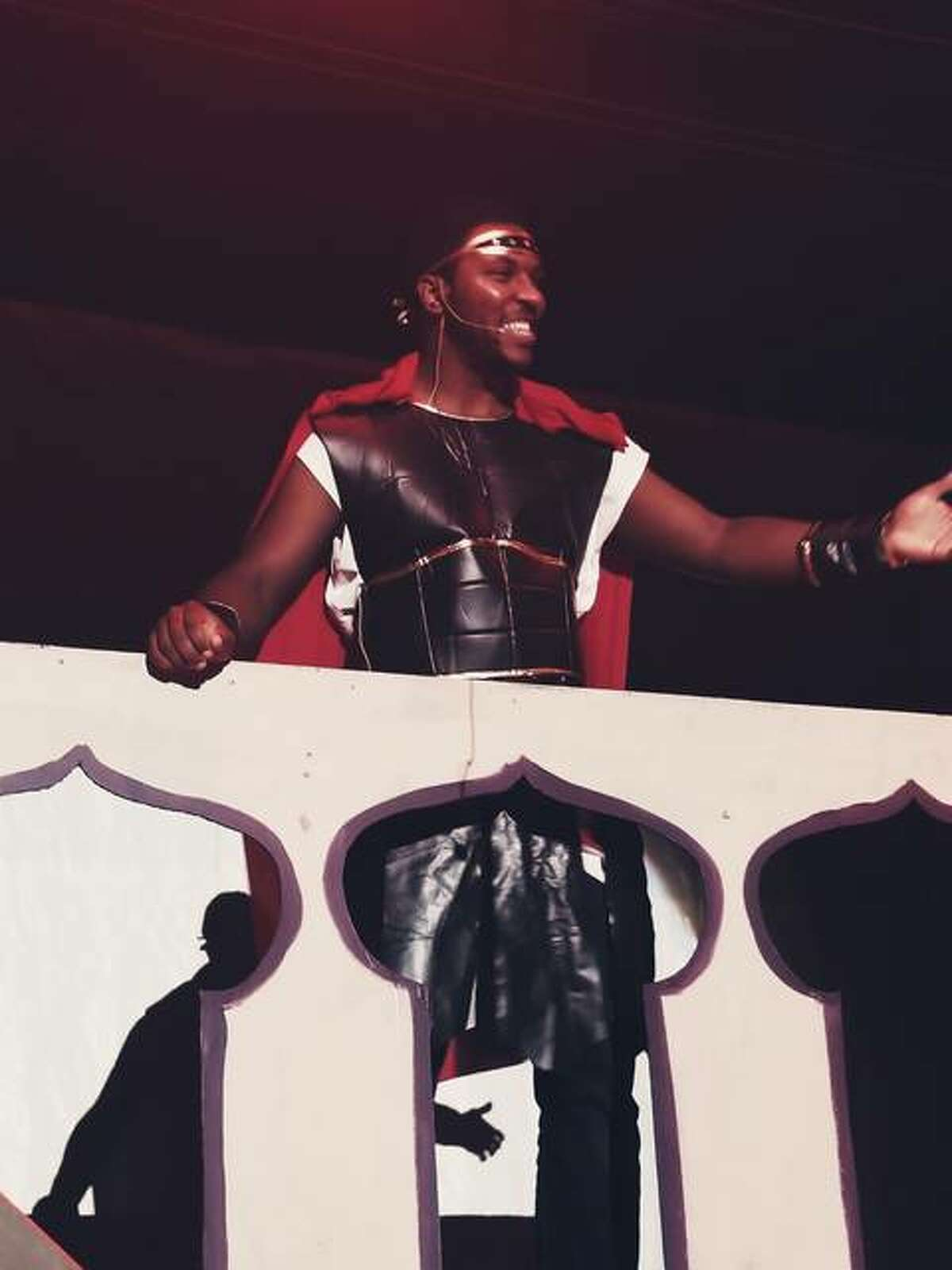 King Herod looks out on the horizon of his kingdom as he plots to kill Jesus in Psalm Theatric's Musical Showcase presented through the Jacoby Arts Center. The virtual event is planned Sunday, Feb. 21.