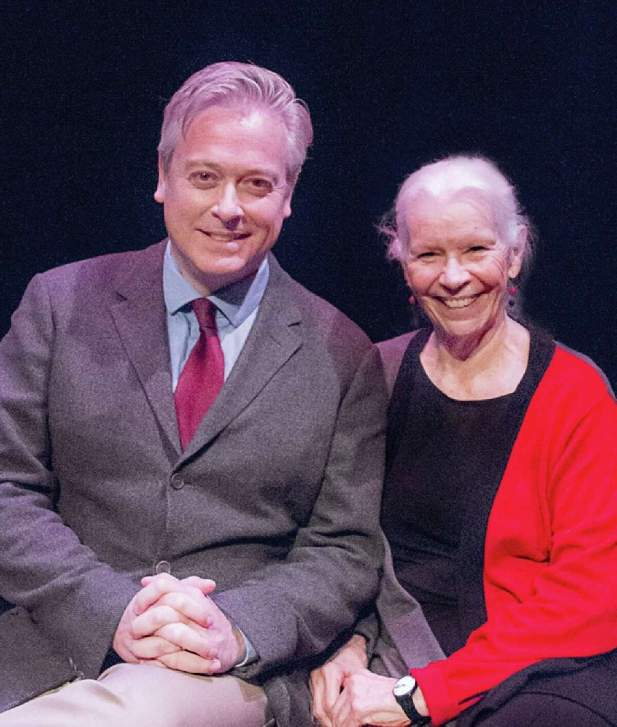Mark Shanahan and Anne Keefe, co-curators of Westport Country Playhouse's Script in Hand Playreading series.