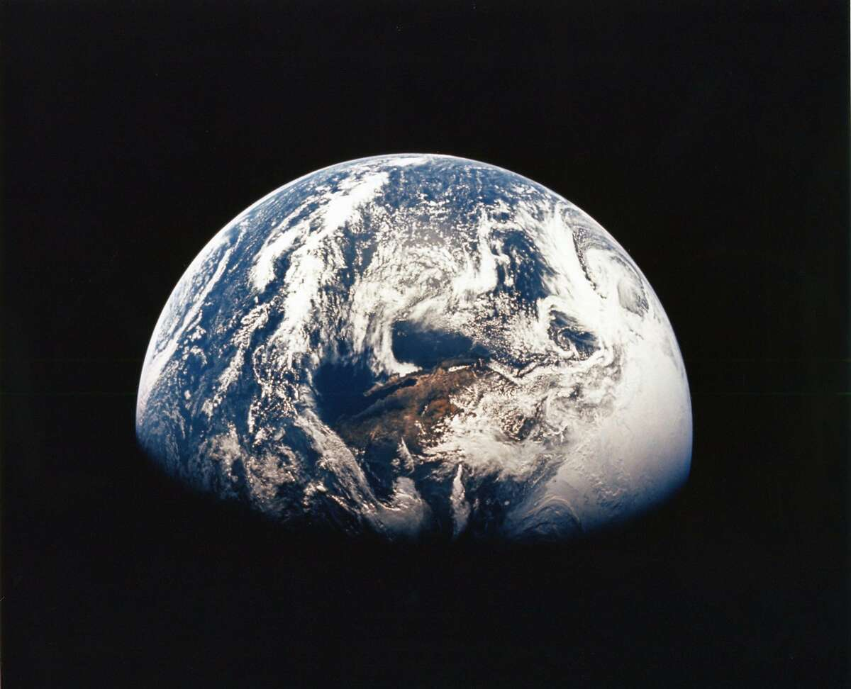 The Earth as seen from Apollo 13 in 1970.