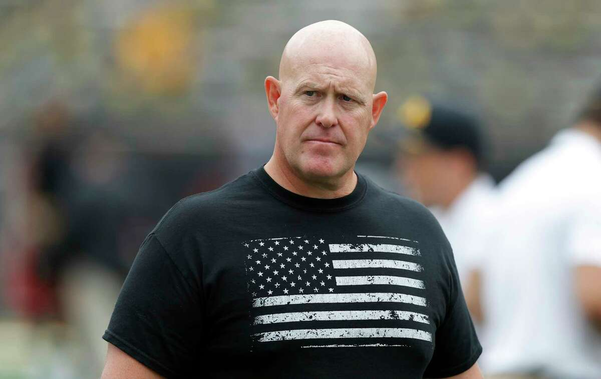 New Jaguars assistant coach Chris Doyle was accused of making racist remarks and bullying players before being placed on administrative leave and subsequently removed at Iowa.