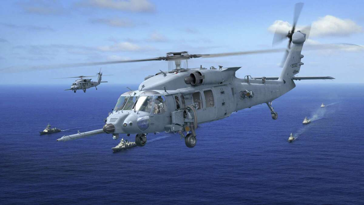 An artist rendering of the proposed Sikorsky HH-60W Combat Rescue Helicopter being developed for the U.S. Air Force.