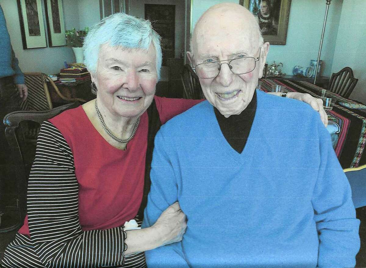 Lila and Walter Croen, of Stamford, have been married for 69 years.