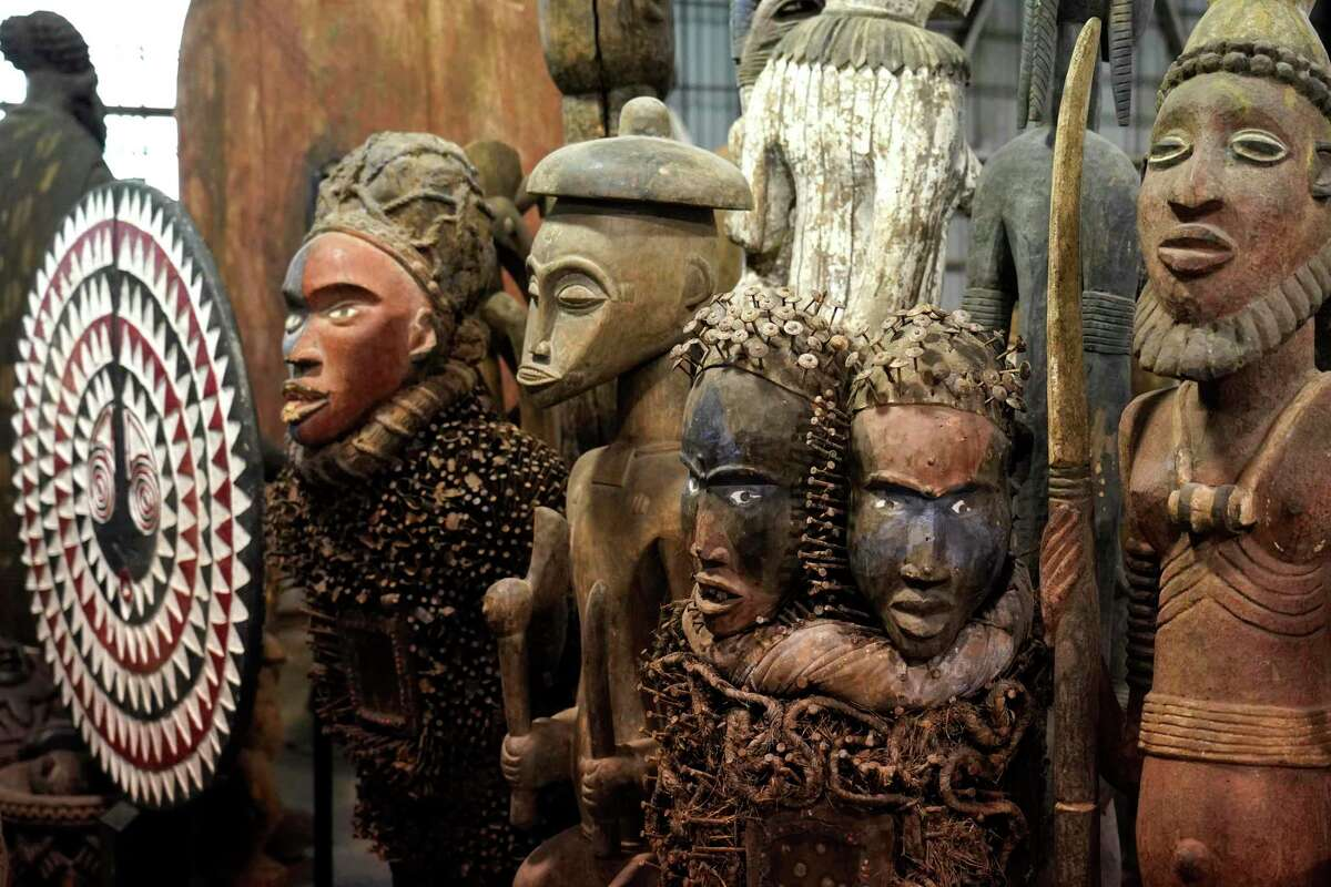For more than three years, Harris County Commissioner Rodney Ellis has stored more than 1,200 pieces of a private African art collection in a Precinct 1 warehouse, at no charge to the collector.