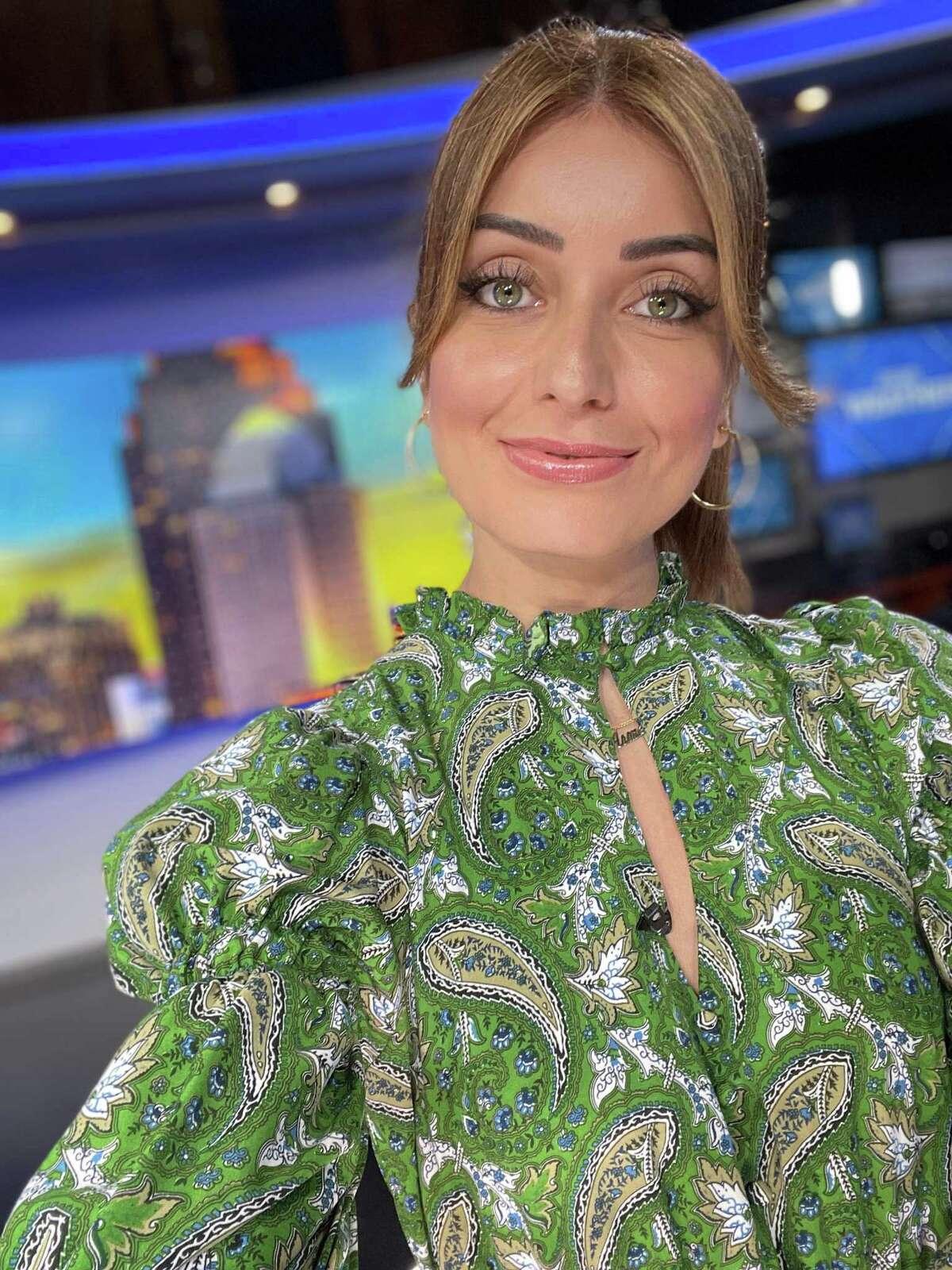 Roma Villavicencio is the host of KENS-TV's