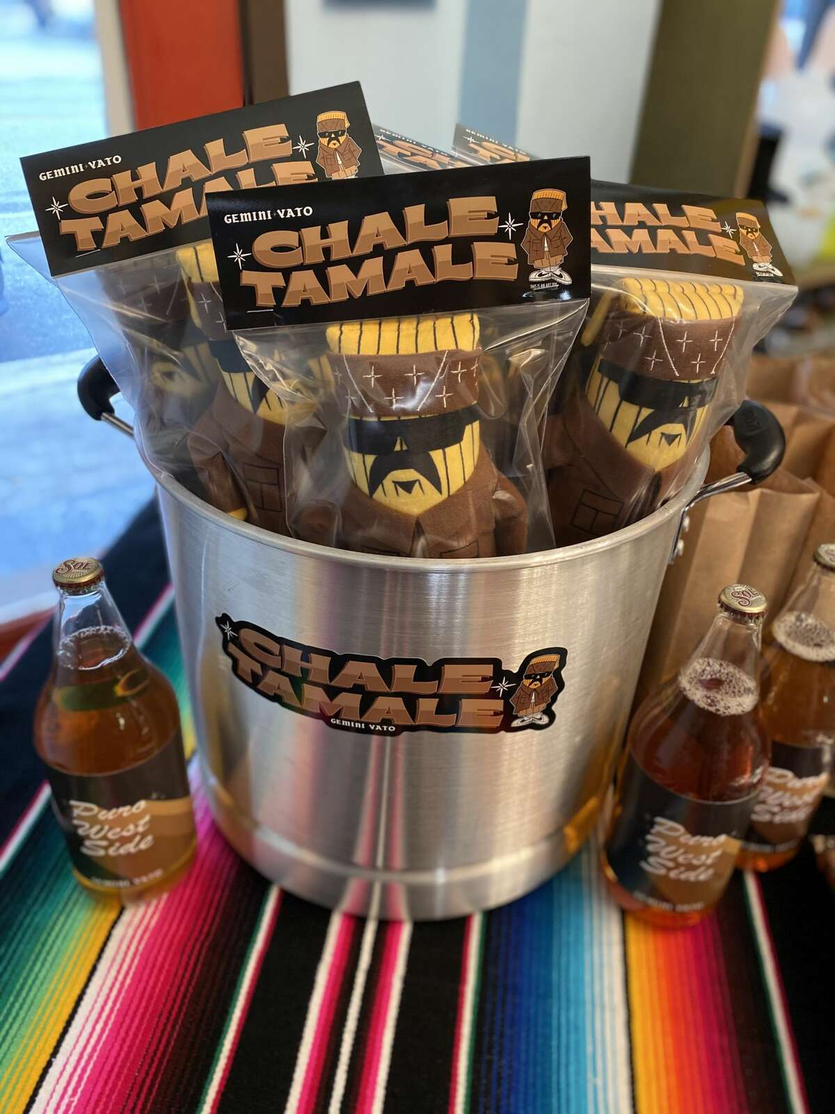 Photos from Chale Tamale's first pop-up release.