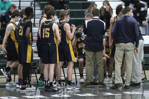 The Bad Axe boys basketball team picked up a 59-46 win over host Laker on Friday night.