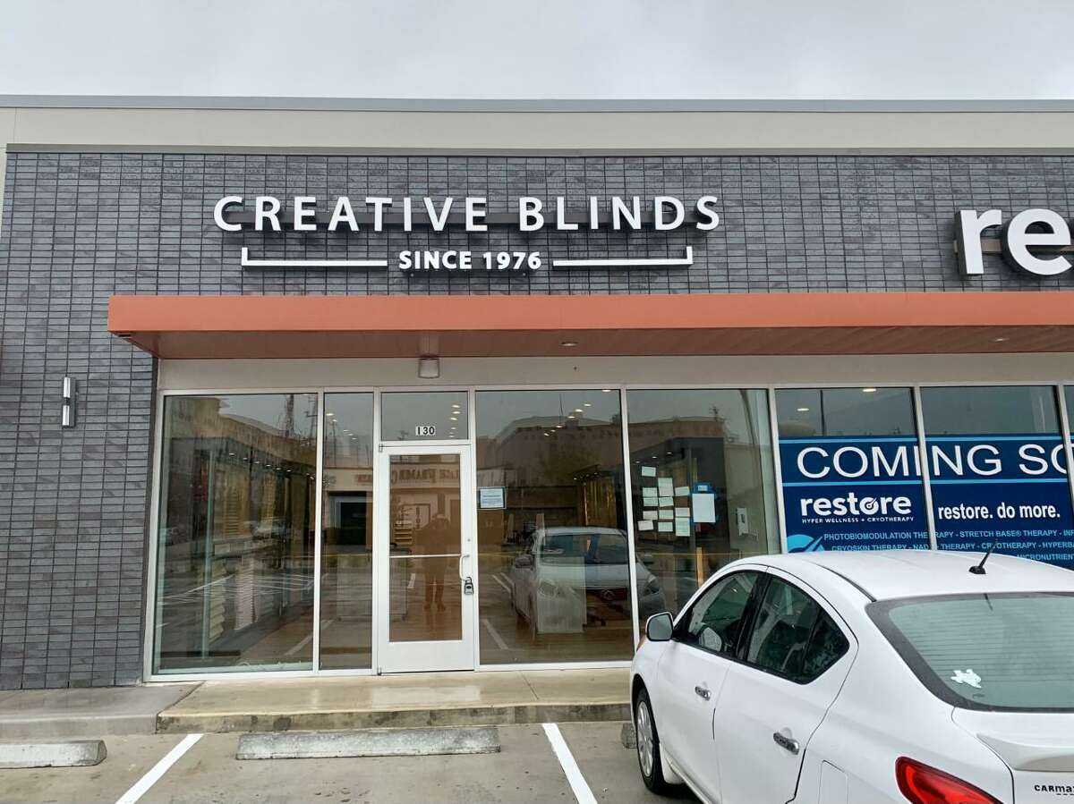 Creative Blinds just opened up its new West U location on Bissonnet St. just west of Kirby Dr. which it moved to in order to get more showcase space