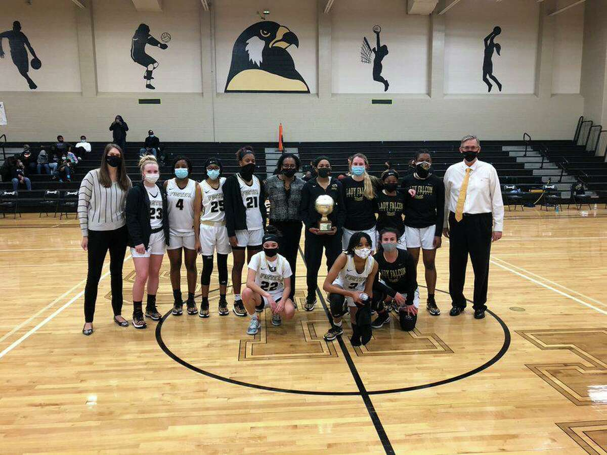 The Foster girls basketball team improved to 22-2 with a 109-22 bi-district playoff victory against Northside. The Falcons will play Barbers Hill in the Region III-5A area round.