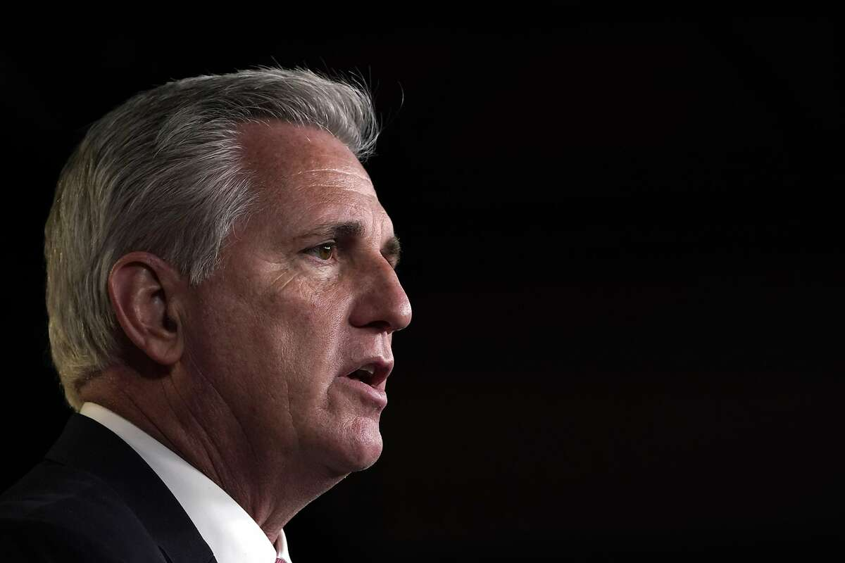 A phone call by House Minority Leader Kevin McCarthy to the former president nearly derailed the impeachment trial.