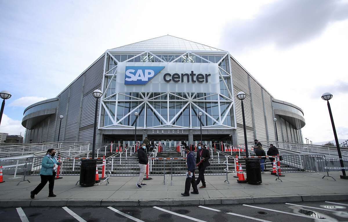 The Sharks have postponed Thursday's home game against Vegas after one of their players entered the league COVID protocol.