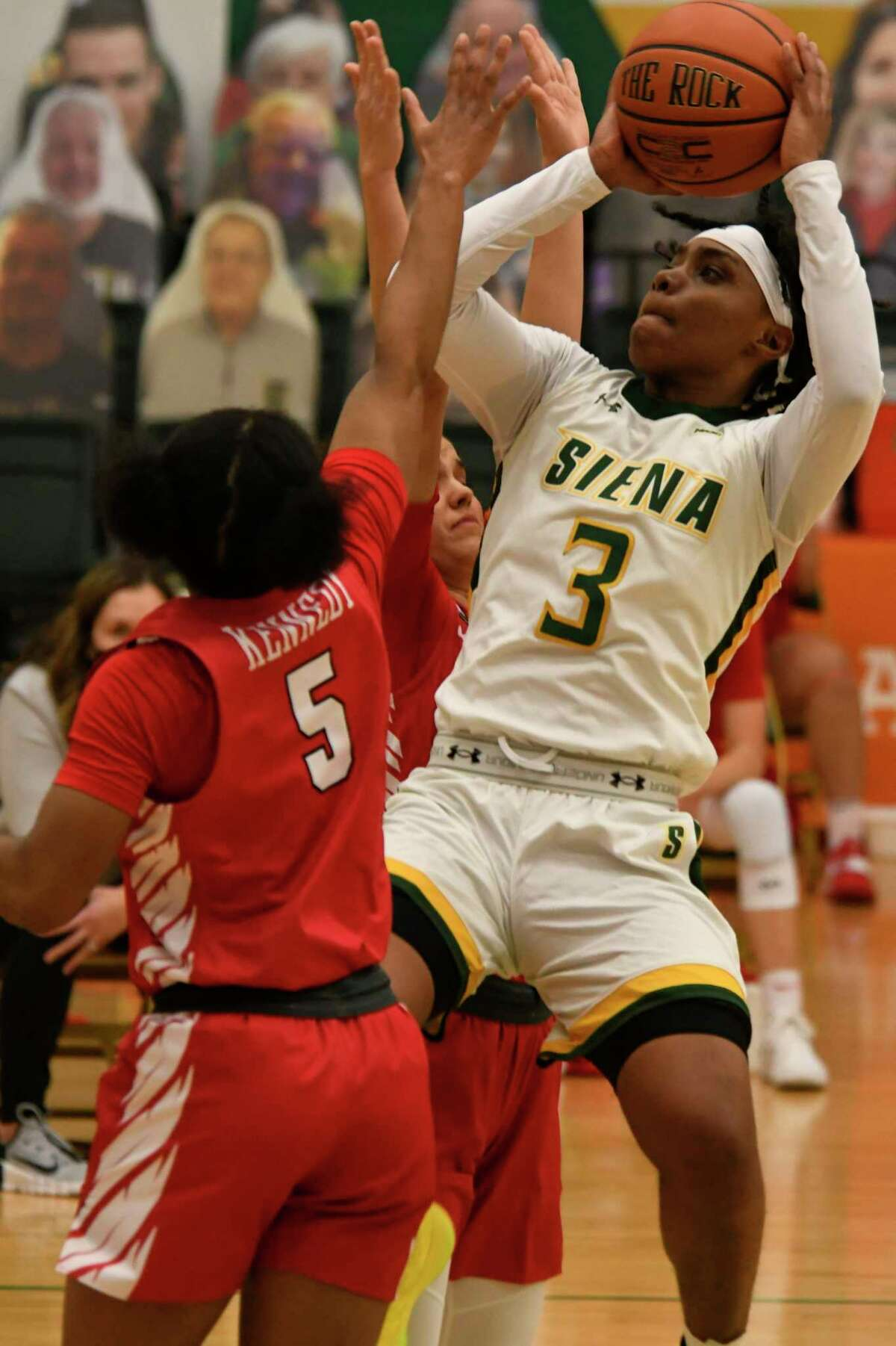 Siena's Rayshel Brown and her teammates will get to take part in the MAAC Tournament after receiving a waiver of eligibility from the NCAA.
