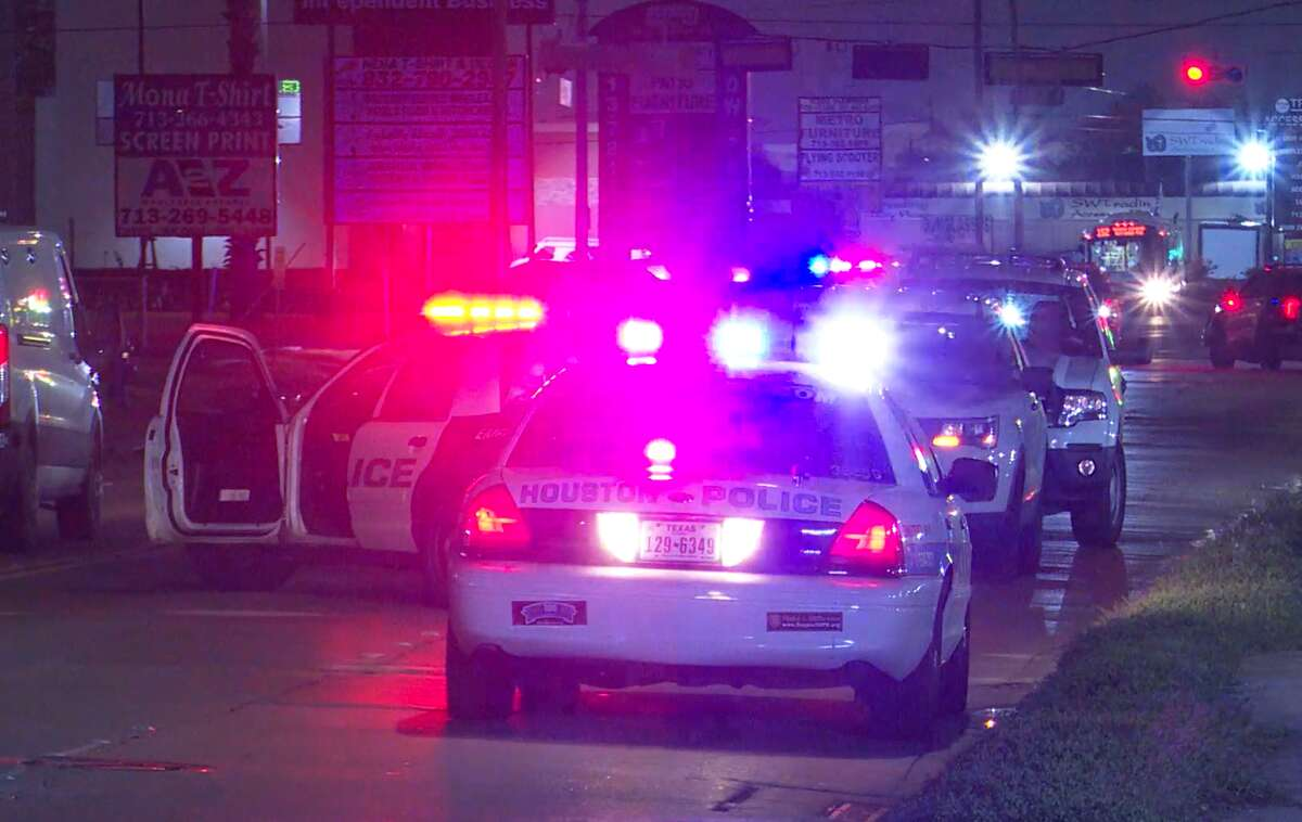 A man was found shot to death in the 9400 block of Harwin Street in west Houston.