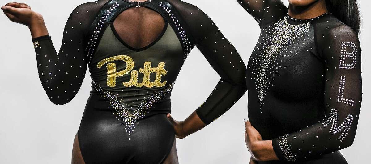 Pitt's new gymnastics uniform features leotards calling attention to the Black Lives Matter movement.