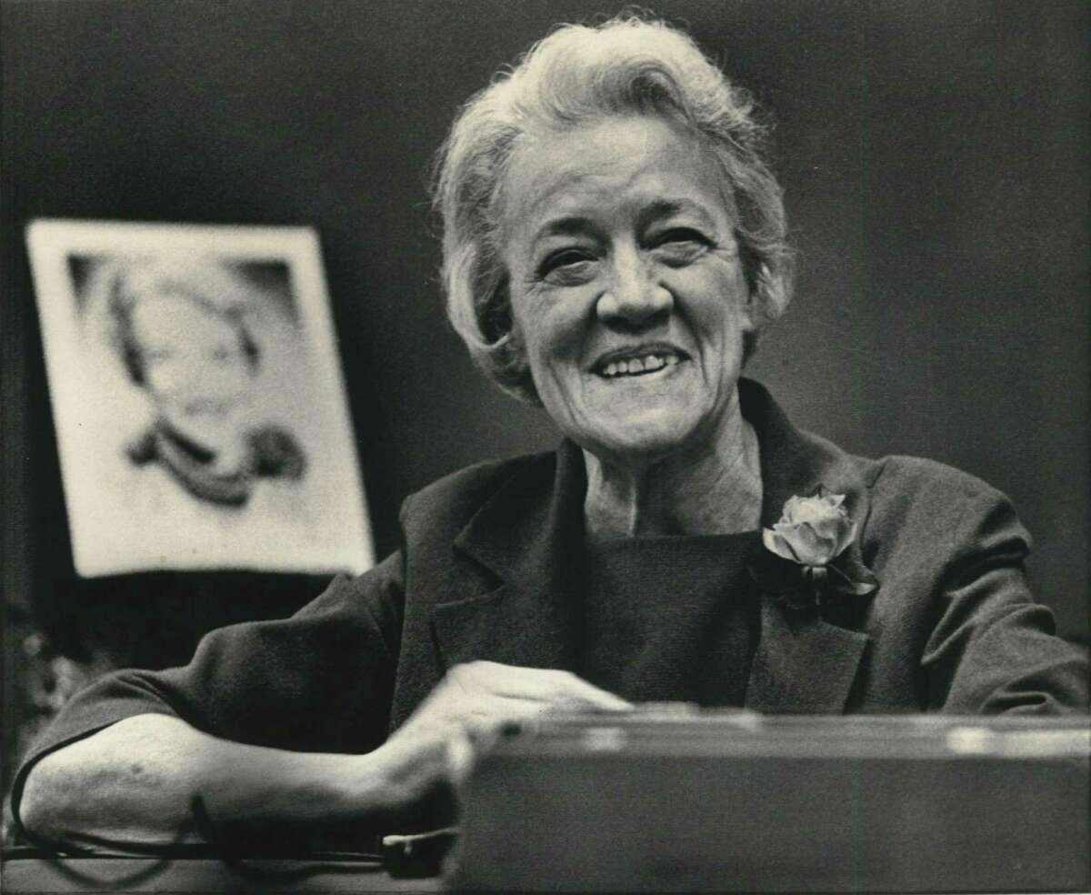 Former Sen. Margaret Chase Smith, R-Maine, in 1970.