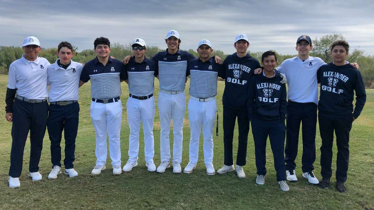 The Alexander boys' golf team went No. 1 and 2 this past weekend at a local tournament.