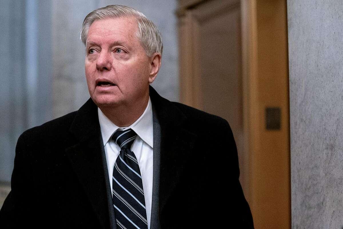 """Sen. Lindsey Graham, R-S.C., spoke on """"Fox News Sunday."""""""