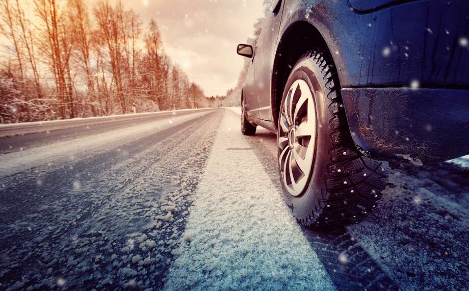 car on winter road in the morning Photo: LeManna/Getty Images/iStockphoto
