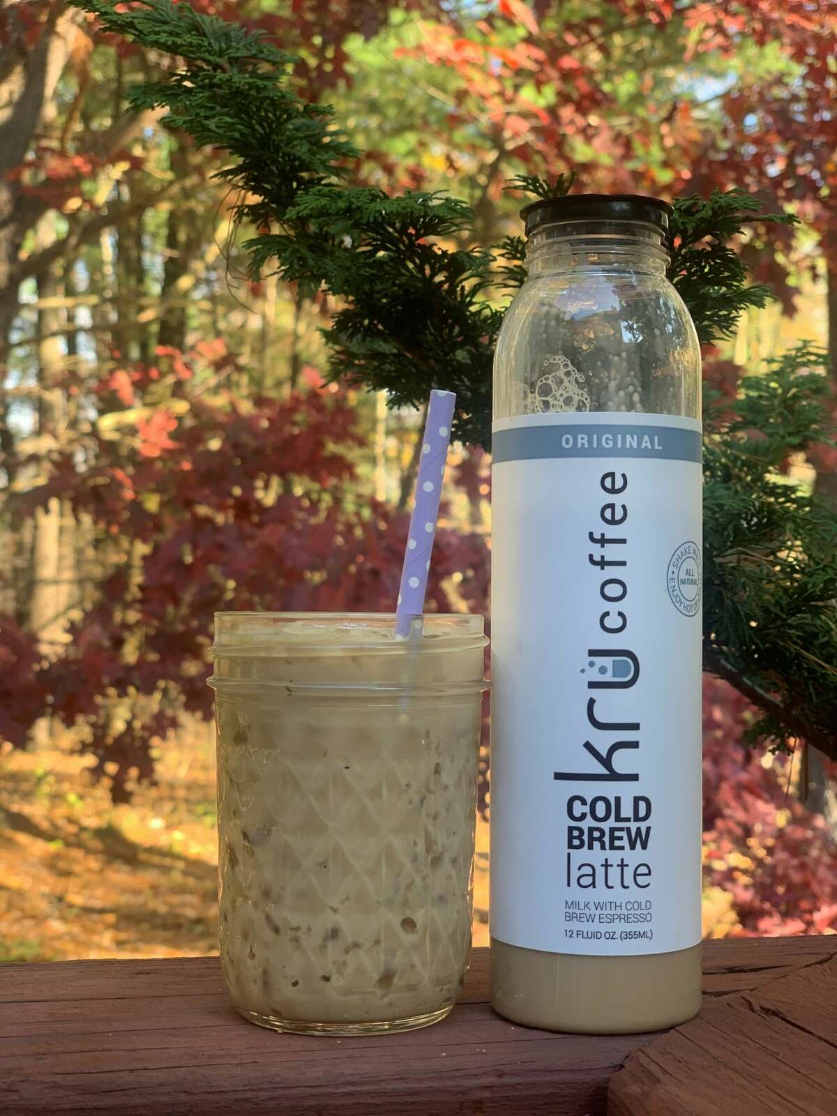 Kru Coffee has lattes and other drinks, made with Battenkill Creamery products, bottled and ready to go.