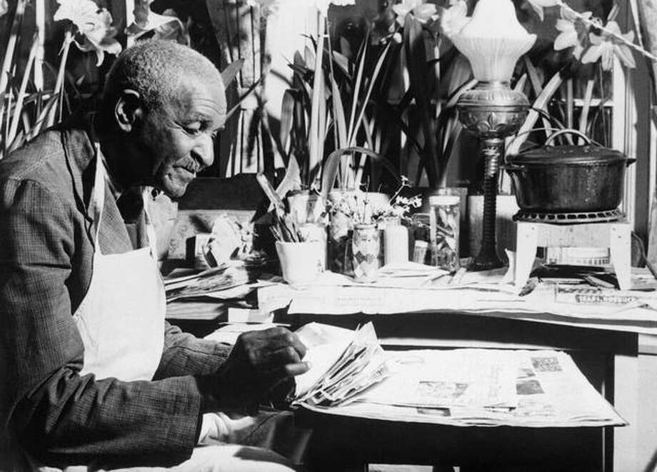 George Washington Carver (1864-1943) started his life as a slave and ended it as a respected and world-renowned agricultural chemist.