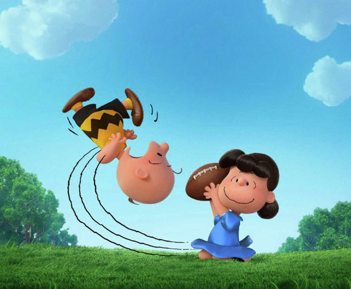 Lucy and Charlie Brown in