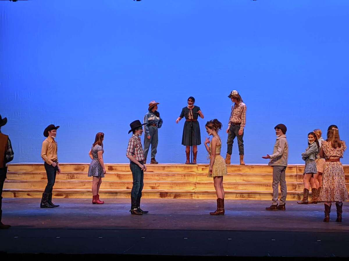 New Canaan High School's Theatre Program working on it's 2021 winter production of