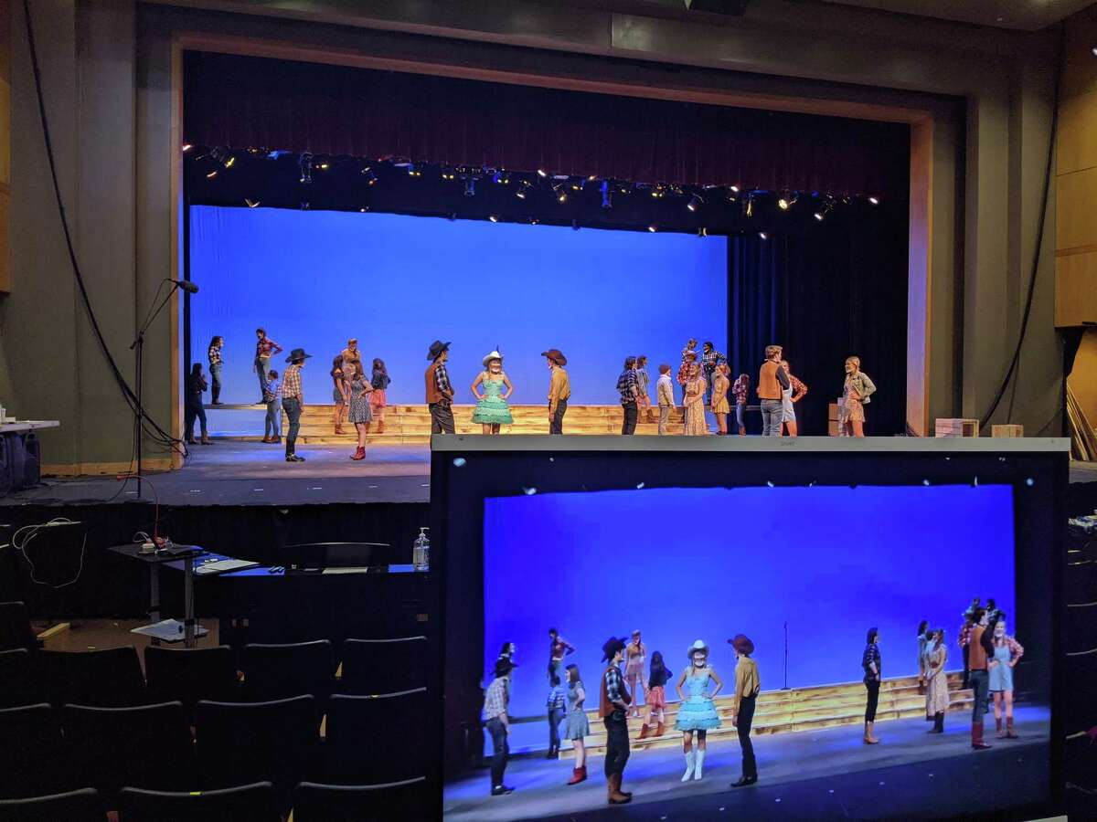 New Canaan High School's Theatre Program works on its 2021 winter production of