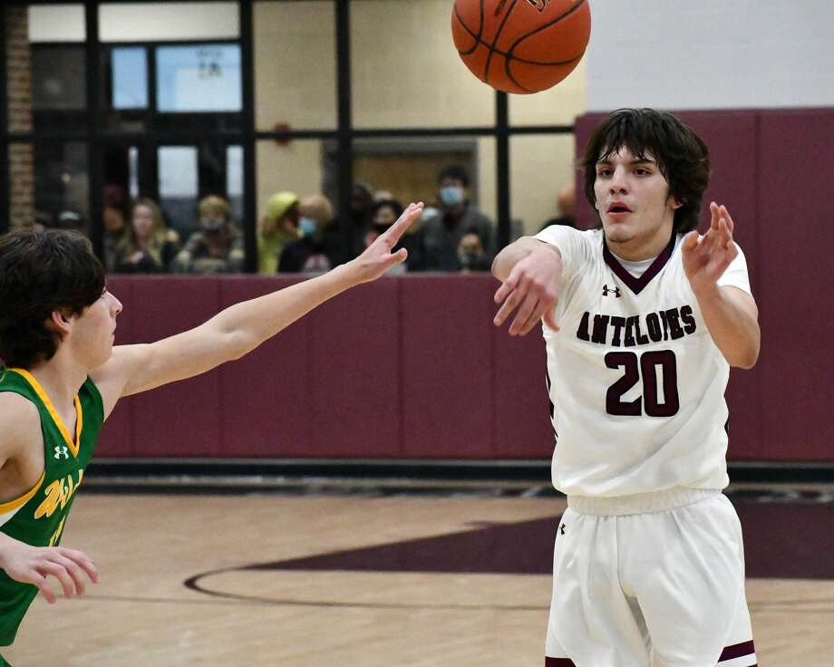 Sean Rodriguez and the 20th-ranked Abernathy Antelopes have built their identity on defense and toughness entering the Class 3A playoffs. Photo: Nathan Giese/Planview Herald