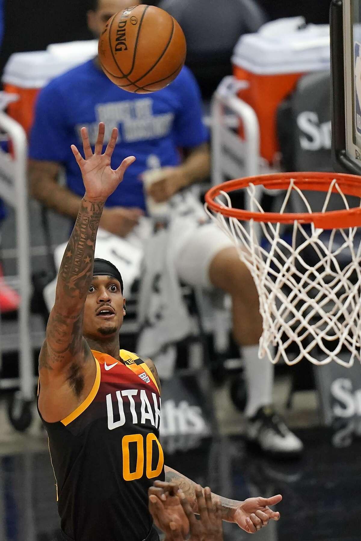 Utah's Jordan Clarkson was 13-for-20 from the floor, including 8-for-13 from 3-point range, as he scored 40 points against Philadelphia.