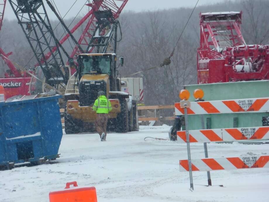 Work began in December to replace the M-55 bridge over the Manistee River after an inspection performed by the Michigan Department of Transportation in May revealed the bridge was in poor condition.However, the project has been several years in the making. (File photo)