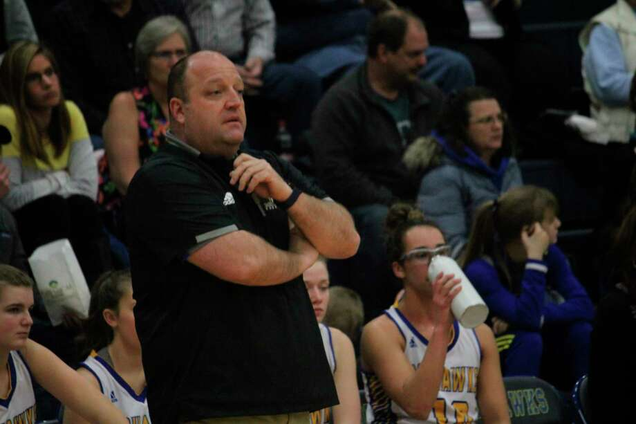 Morley Stanwood girls basketball coach Rob Brauher and the Mohawks are in action three times a week. (Pioneer file photo)