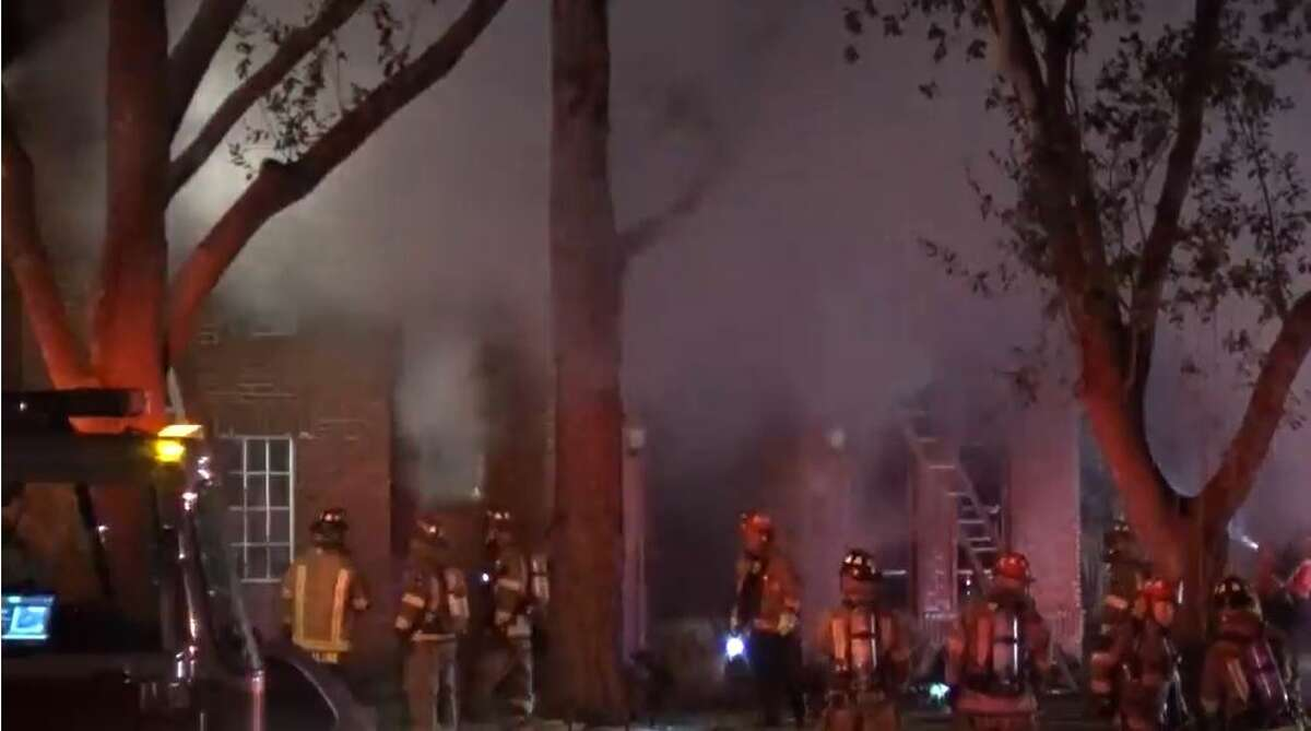 Multiple fatalities were reported early Tuesday in a Sugar Land house fire.