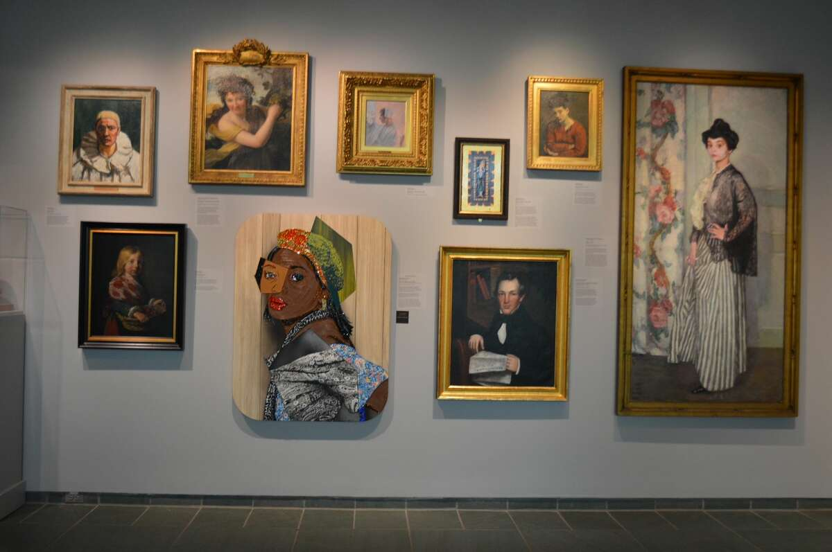 Part of an exhibit at the Memorial Art Gallery in Rochester.