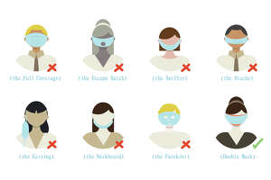 KN95 Face Mask - Protective Respirator (10 Pack) for $19.99 at N95MedicalSupplies.com